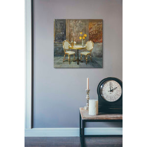 """French Cafe"" by Danhui Nai, Giclee Canvas Wall Art"