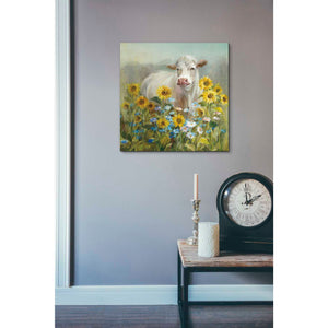 """Farm and Field I v2 Crop"" by Danhui Nai, Giclee Canvas Wall Art"