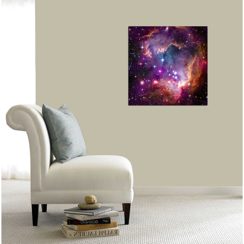 """Magellanic Cloud"" Hubble Space Telescope Giclee Canvas Wall Art"