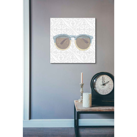 Image of 'Must Have Fashion I Gray White' by Emily Adams, Giclee Canvas Wall Art