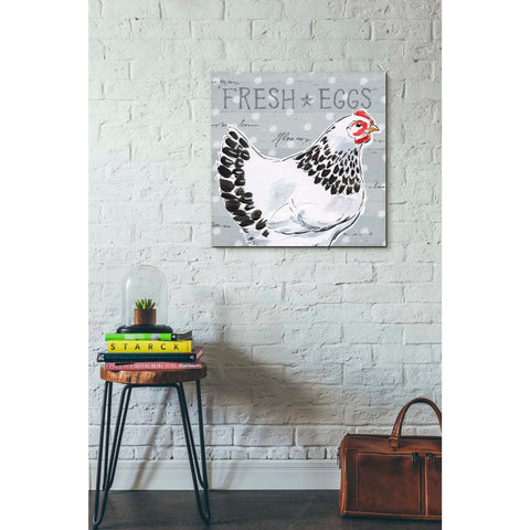 Image of 'Roosters Call II' by Daphne Brissonet, Giclee Canvas Wall Art