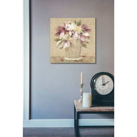 'Cottage Bouquet II' by Cheri Blum, Giclee Canvas Wall Art