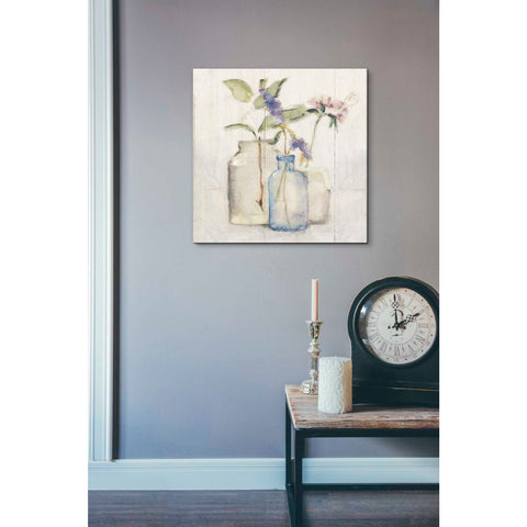 'Blossoms on Birch I' by Cheri Blum, Giclee Canvas Wall Art