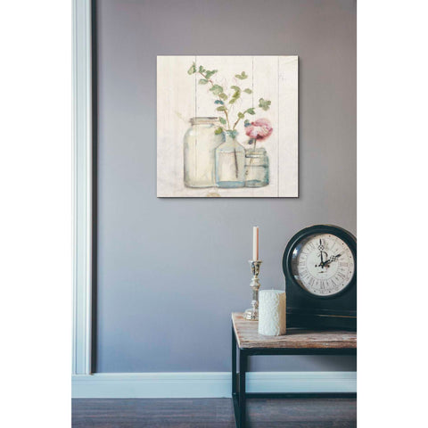 'Blossoms on Birch IV' by Cheri Blum, Giclee Canvas Wall Art