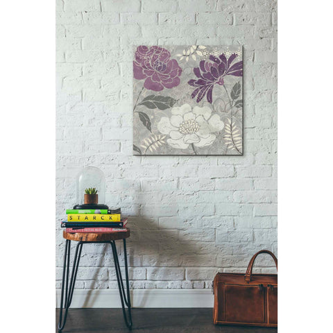 'Morning Tones Purple II' by Daphne Brissonet, Giclee Canvas Wall Art