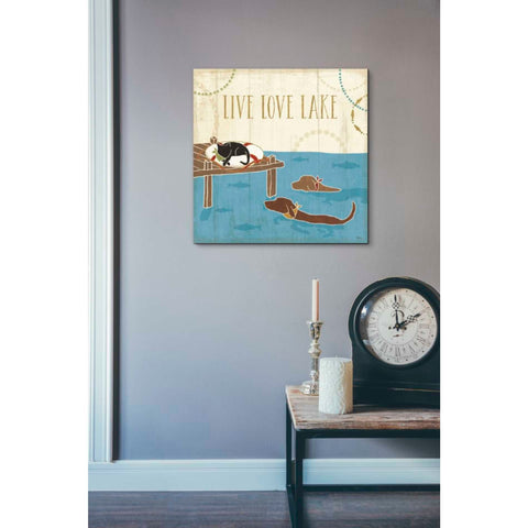 'Lake Pals V' by Veronique Charron, Giclee Canvas Wall Art