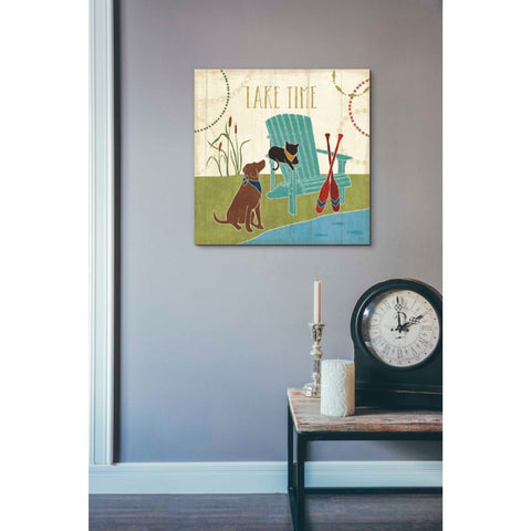 'Lake Pals IV' by Veronique Charron, Giclee Canvas Wall Art
