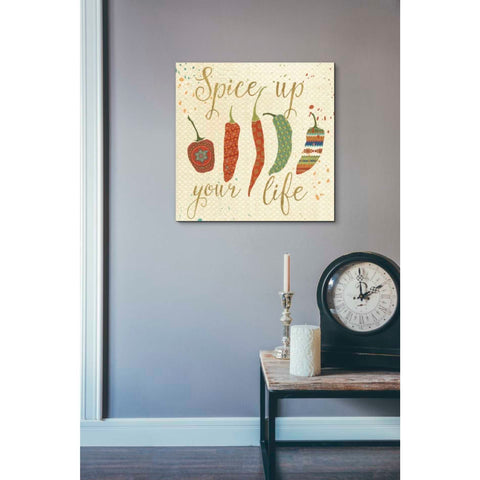 'Mexican Fiesta V' by Veronique Charron, Giclee Canvas Wall Art