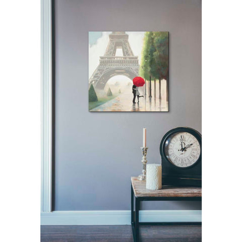Image of 'Paris Romance II' by Marco Fabiano, Giclee Canvas Wall Art