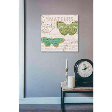 Image of 'Bookshelf Botanical IX' by Katie Pertiet, Giclee Canvas Wall Art