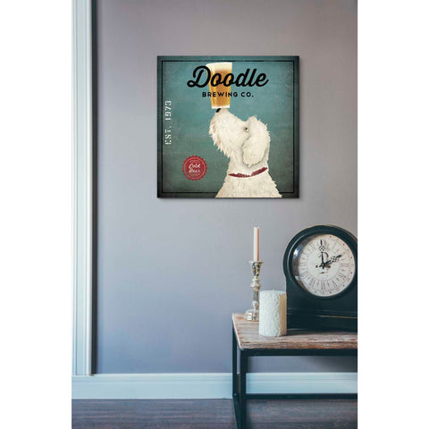'Doodle Beer' by Ryan Fowler, Giclee Canvas Wall Art