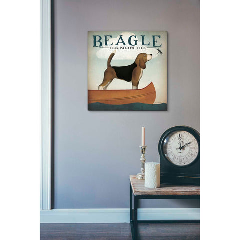 Image of 'Beagle Canoe Co' by Ryan Fowler, Giclee Canvas Wall Art