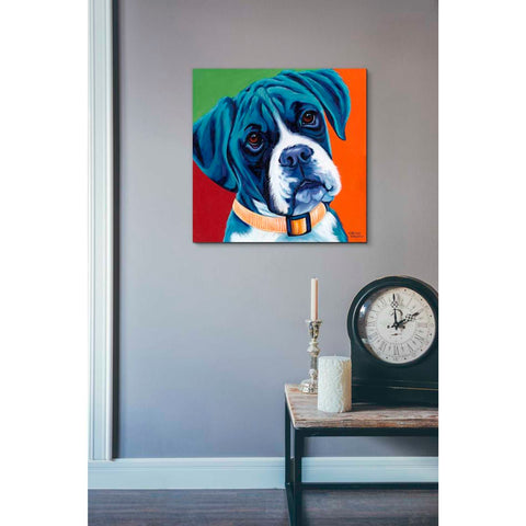 Image of 'Cute Pups I' by Carolee Vitaletti Giclee Canvas Wall Art