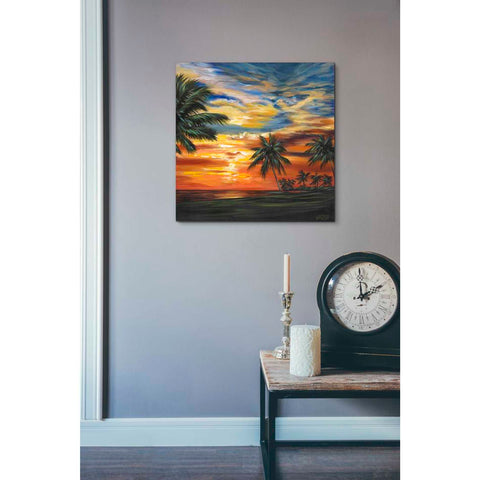 Image of 'Stunning Tropical Sunset II' by Carolee Vitaletti Giclee Canvas Wall Art