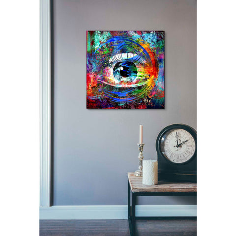 Image of 'Big Brother' Canvas Wall Art,18 x 18