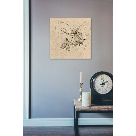 """Float Bot 1.0"" by Craig Snodgrass, Giclee Canvas Wall Art"