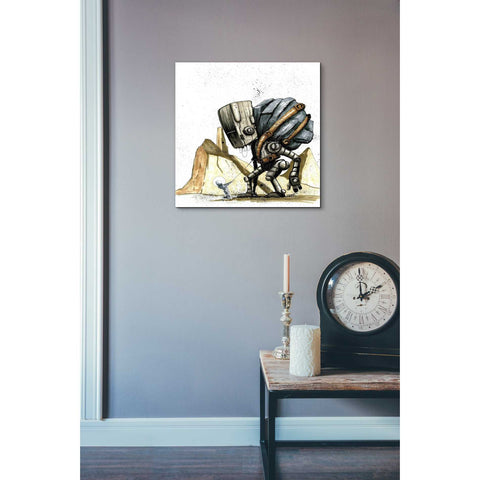 "Image of ""Ink Bot 2.0"" by Craig Snodgrass, Giclee Canvas Wall Art"