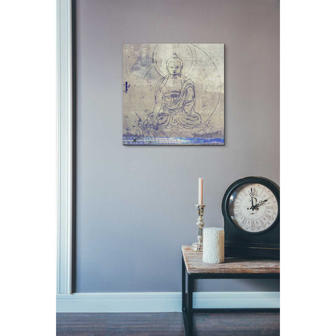 'Lotus Position' by Elena Ray Canvas Wall Art,18 x 18