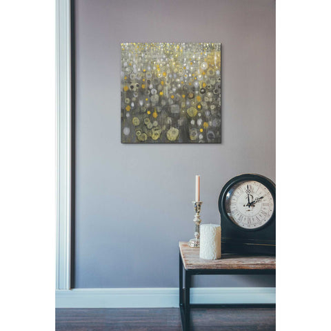 Image of 'Rain Abstract V' by Danhui Nai, Canvas Wall Art,18 x 18