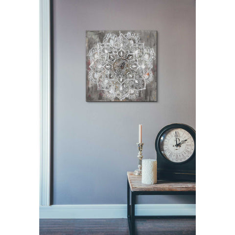 "Image of ""Mandala In Neutral II"" by Danhui Nai, Giclee Canvas Wall Art"