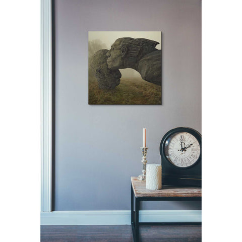 """Mother's Kiss"" by Dariusz Klimczak, Giclee Canvas Wall Art"