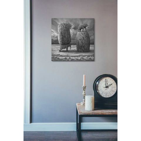 "Image of ""Relativity"" by Dariusz Klimczak, Giclee Canvas Wall Art"