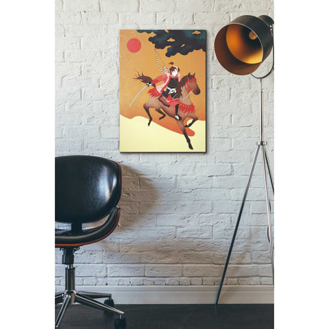 'Samurai' by Sai Tamiya, Giclee Canvas Wall Art