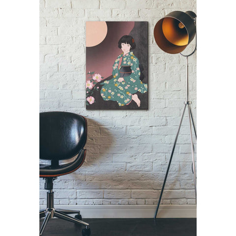 Image of 'Sazanka' by Sai Tamiya, Giclee Canvas Wall Art