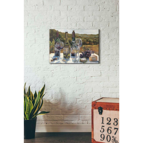 "Image of ""A Wine Tasting"" by Marilyn Hageman, Giclee Canvas Wall Art"