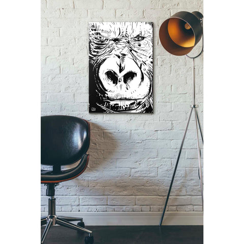 'Gorilla' by Giuseppe Cristiano, Giclee Canvas Wall Art
