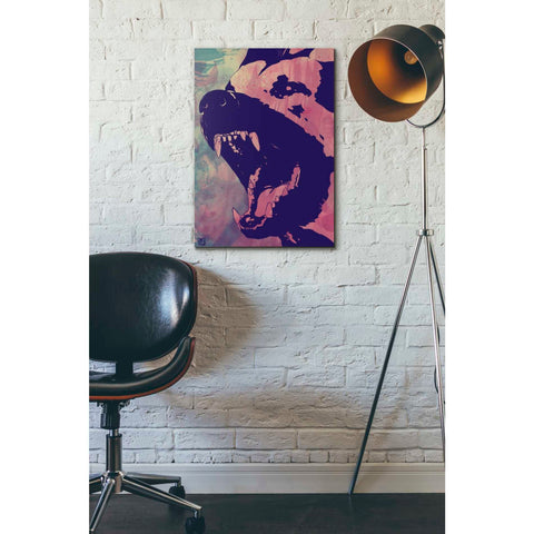 Image of 'Dog' by Giuseppe Cristiano, Giclee Canvas Wall Art