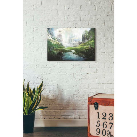 Image of 'Peaceful River' by Jonathan Lam, Giclee Canvas Wall Art