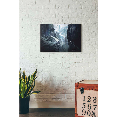 'Winter Ruins' by Jonathan Lam, Giclee Canvas Wall Art