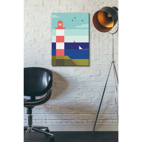 Image of 'Lighthouse' by Antony Squizzato, Giclee Canvas Wall Art