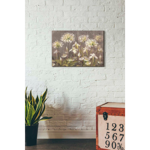 'Spring Blossoms Neutral' by Danhui Nai, Giclee Canvas Wall Art