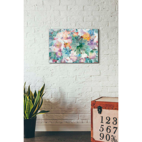 'Succulent Florals Crop' by Danhui Nai, Giclee Canvas Wall Art