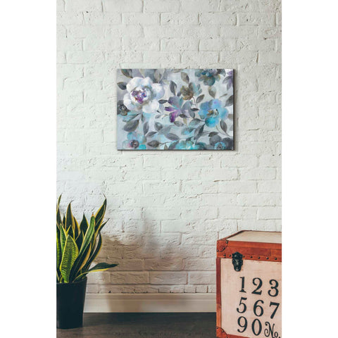 'Twilight Flowers Crop' by Danhui Nai, Giclee Canvas Wall Art