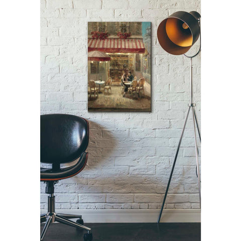 Image of 'Paris Cafe II Crop' by Danhui Nai, Giclee Canvas Wall Art