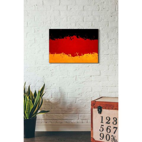 Image of 'Germany' Canvas Wall Art,18 x 26