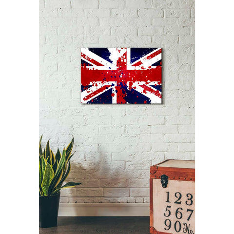 Image of 'United Kingdom' Canvas Wall Art,18 x 26