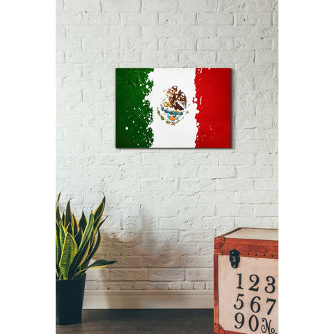 Image of 'Mexico' Canvas Wall Art,18 x 26