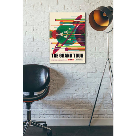 """Visions of the Future:The Grand Tour"" Giclee Canvas Wall Art"