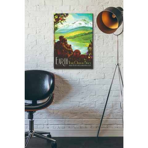 "Image of ""Visions of the Future: Earth"" Giclee Canvas Wall Art"