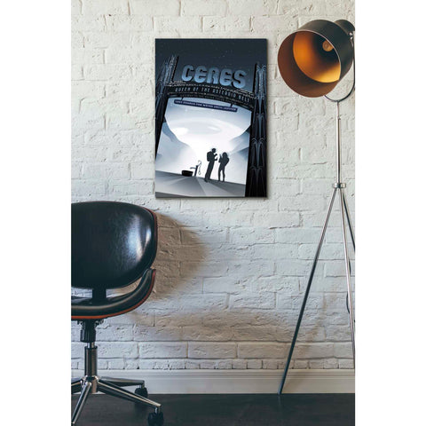 Image of 'Visions of the Future: Ceres' Canvas Wall Art,18 x 26