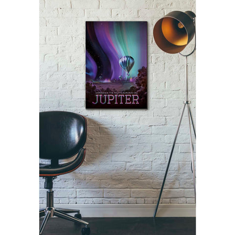 Image of 'Visions of the Future: Jupiter' Canvas Wall Art,18 x 26