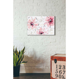 'Simply Pink I' by Daphne Brissonet, Giclee Canvas Wall Art