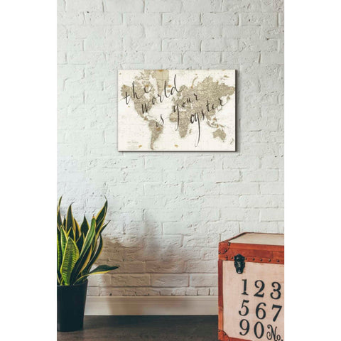 'The World is Your Oyster' by Sara Zieve Miller, Giclee Canvas Wall Art
