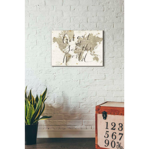 'Get Out and See the World' by Sara Zieve Miller, Giclee Canvas Wall Art