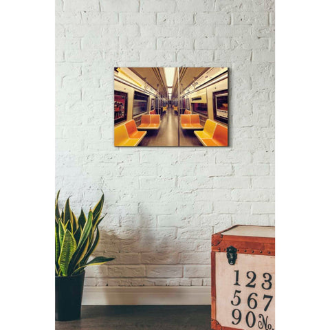 'Soul Train' by Katherine Gendreau, Giclee Canvas Wall Art