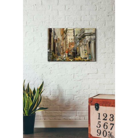 Image of 'Union Square NY' by Marilyn Hageman, Giclee Canvas Wall Art